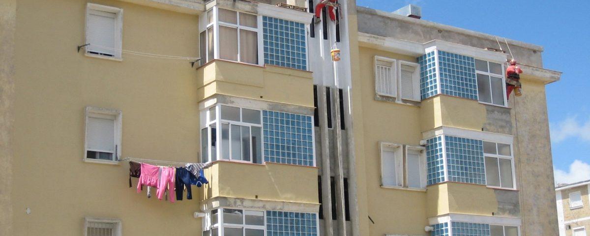 Rehabilitación parcial de edificio y trabajos verticales en C/ Parra, Jerez de la Frontera